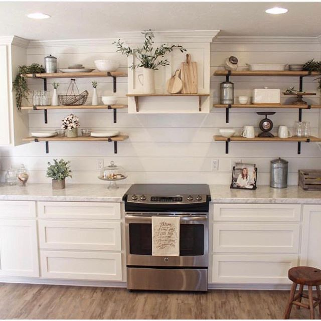 best 25 industrial farmhouse decor ideas on shelves with pipes and kitchen and