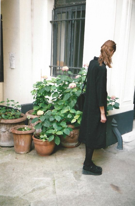 schwarzes kleid | black dress