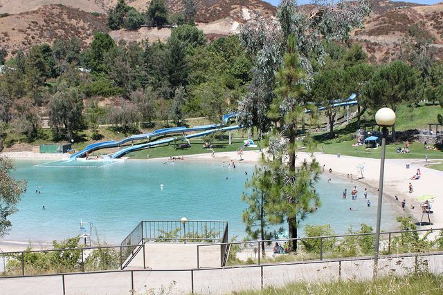 Yucaipa water park water parks and regional for Yucaipa regional park fishing