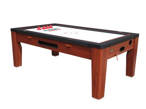 Berner 6 In 1 Multi Game Table In Cherry
