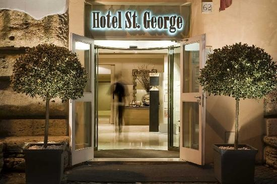 Take gorgeous Hotel in St. George Roma #TravelBuff