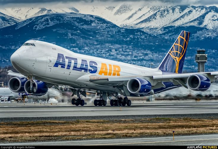 Atlas Air B747-8F  (N854GT) at Anchorage - photo by Angelo Bufalino