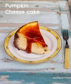 pumpkin cheese cake di california bakery, cheese cake alla zucca