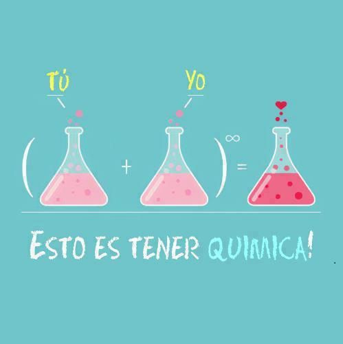 química Frases español amor vida