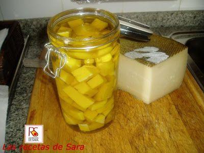 Las recetas de Sara: Queso en aceite