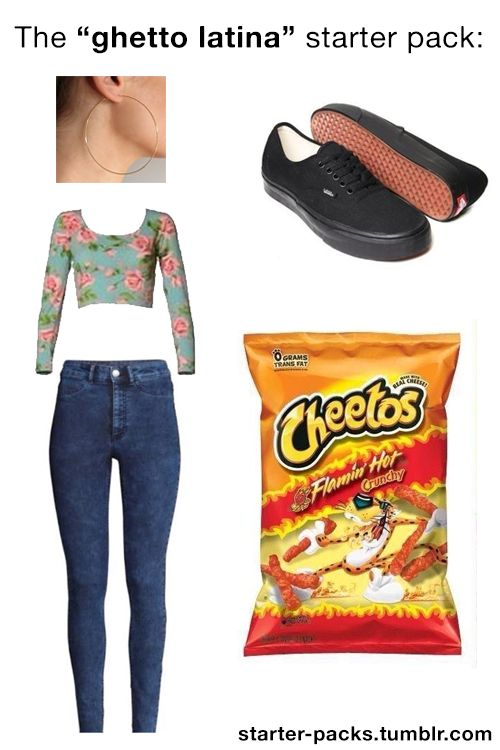 "I'm an Aggressive Romantic - starter-packs: The ""ghetto latina ..."