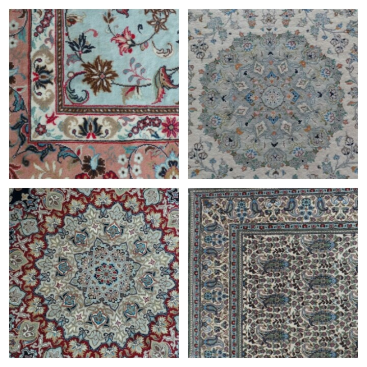 My pride and joy, handmade carpets, crafted by hands trained in centuries old traditions