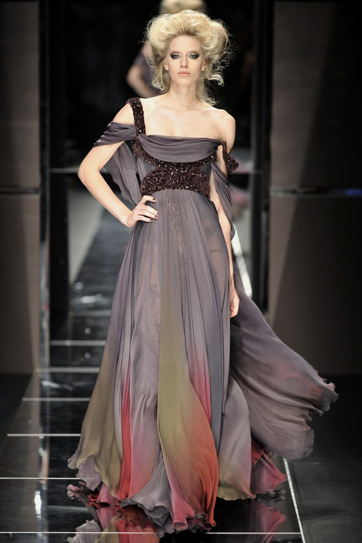 Different color beads would be awesome: Eliesaab, Fashion, Elie Saab, Fall 2008, Color, Elegant, Dress, Couture Fall, Haute Couture