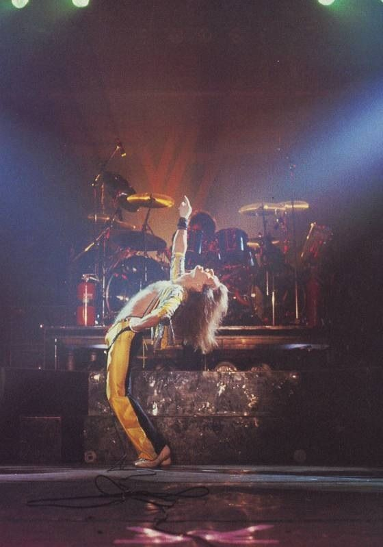 David Lee Roth on stage 1981