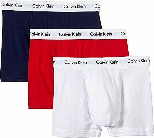 Calvin Klein Cotton Stretch Multi Pack Boxers - White/Red/Blue - Medium Features:<br/>3 Pack<br/>Calvin Klein branding<br/>Elasticated waistband with logo branding<br/> (Barcode EAN = 5051145622126). http://www.comparestoreprices.co.uk/mens-designer-underwear/calvin-klein-cotton-stretch-multi-pack-boxers--white-red-blue--medium.asp