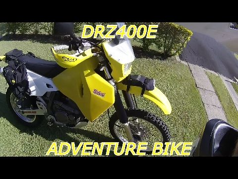 DRZ400E ADVENTURE BIKE MODS AND ADD ONS - YouTube