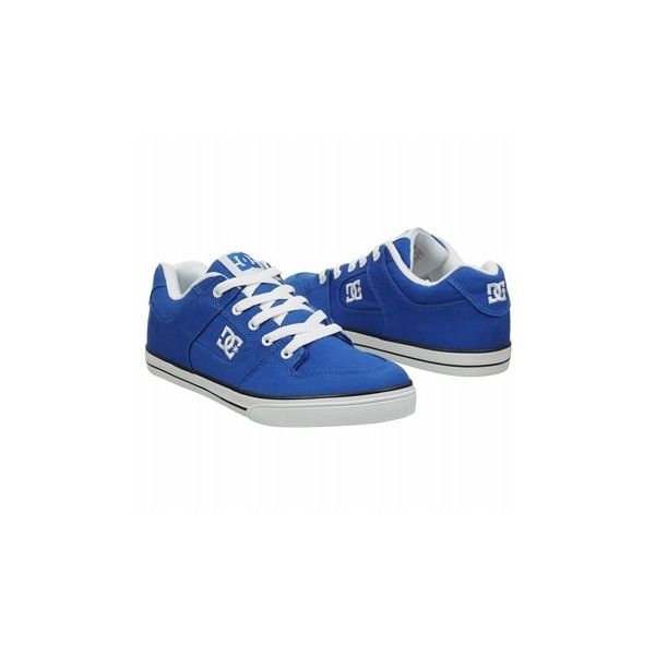 DC Shoes Kids' Pure GS Shoes (Blue/White)