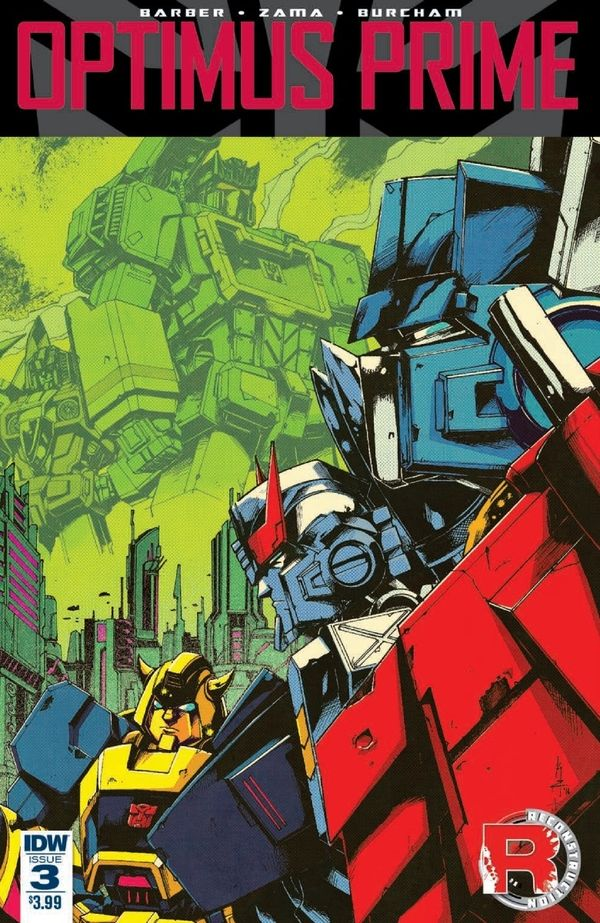 IDW Comics Optimus Prime Issue #3 Full Preview - New Cybertron Part 3