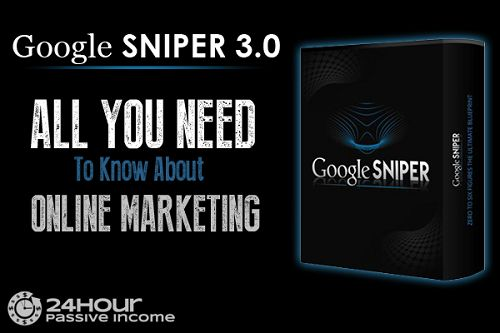 Google Sniper 3.0 is developed by George Brown Internet Millionaire help people to make money online with Google sniper sites passively.