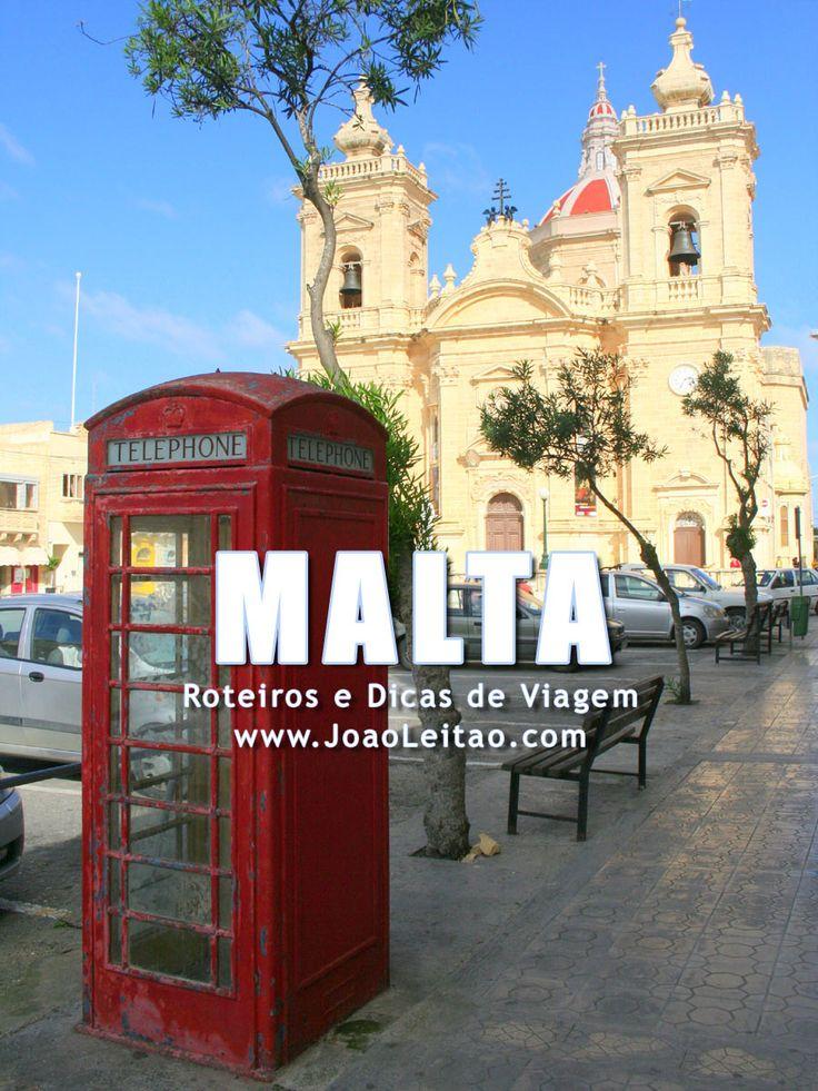 Visitar Malta: roteiros, guia de melhores destinos para viajar, fotos, transportes, alojamento, restaurantes, dicas de viagem e mapas.