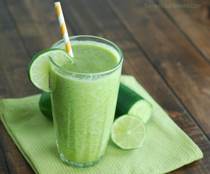 This green smoothie contains an impressive dose of nutrients that will give you a huge energy boost to power you through the day!