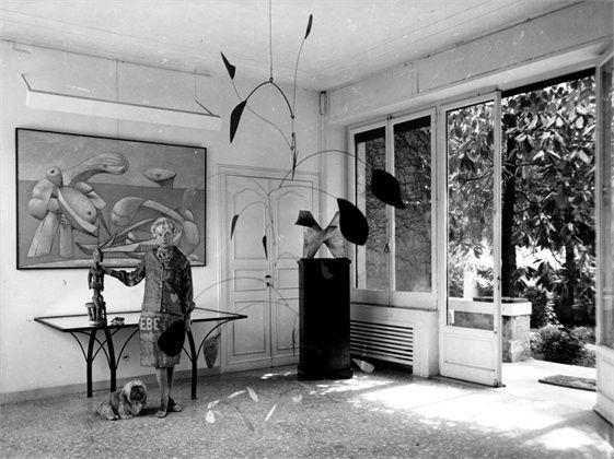 Habitually Chic® » Peggy Guggenheim: Art Addict