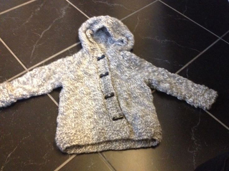 Knitted duffelcoat  Girl 2 years, looking forward to use it
