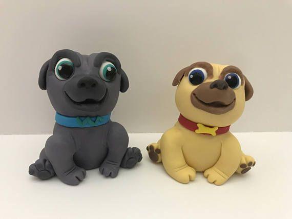 Puppy Dog Pals Fondant Cake Topper Puppy Dog Cake Puppy Dog