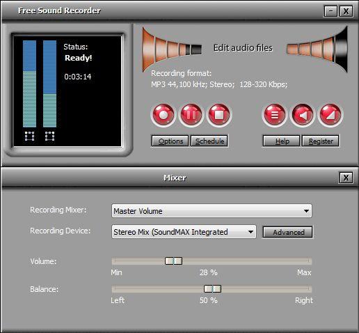 All Free Sound Recorder 9.8.6 screenshot