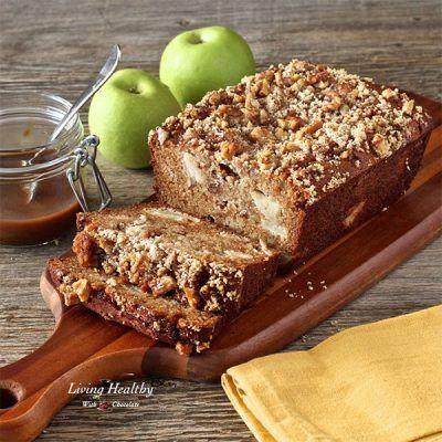 Paleo Carmel Apple Pie Cake Bread