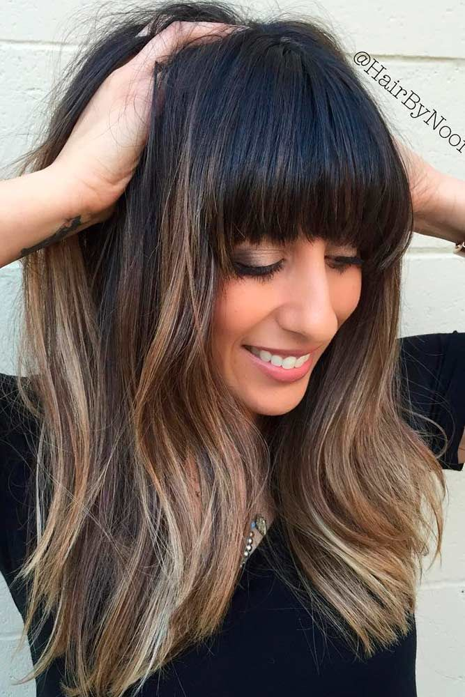 Sexy Hairstyles with Bangs for Every Hair Type ★ See more: http://lovehairstyles.com/sexy-hairstyles-with-bangs-hair-type/