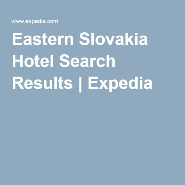 Eastern Slovakia Hotel Search Results | Expedia