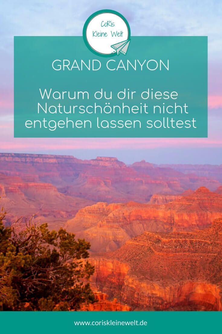 Erlebe Die Fantastischen Ausblicke Auf In Den Grand Canyon Ich Verrate Dir Meine Schonsten Aussichtspunkte Und Alle Tipps Fur Reisen Grand Canyon Usa Reise