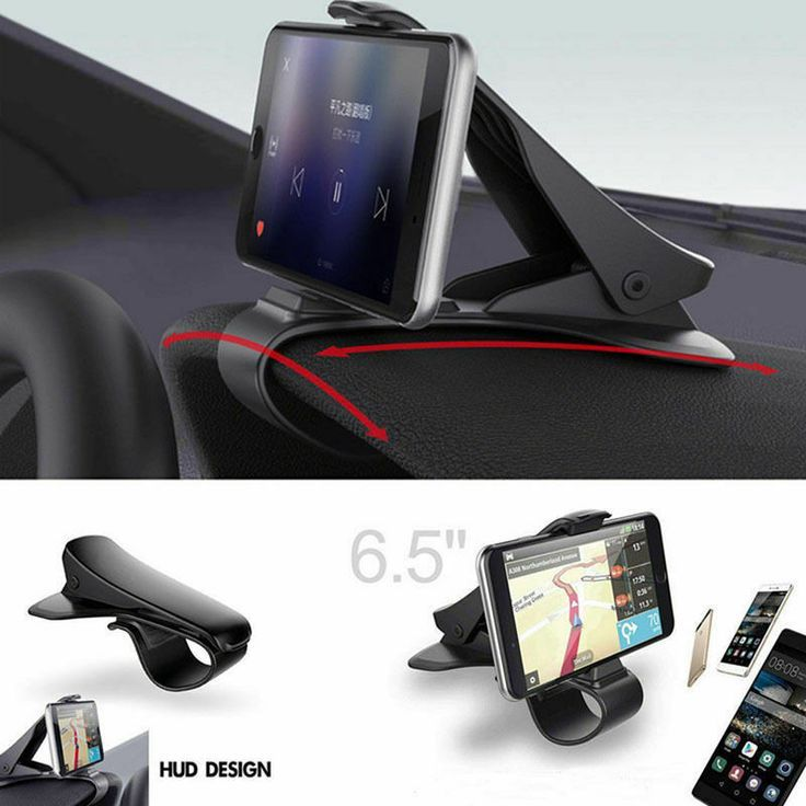 Car phone clip holder radsnaps chrome pipe covers