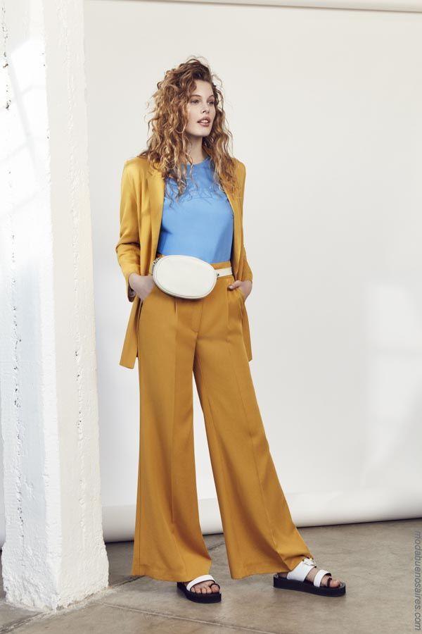 431935529 Trajes de moda mujer primavera verano 2019. Moda trajes de mujer 2019.