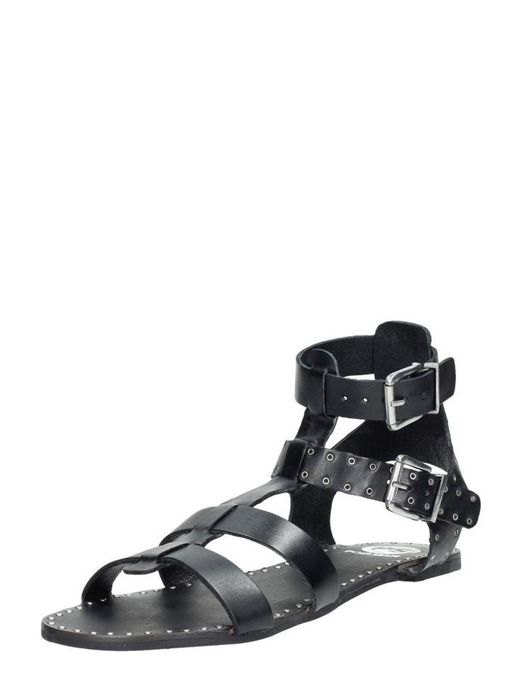 PS Poelman trendy sandaal met gespen voor dames