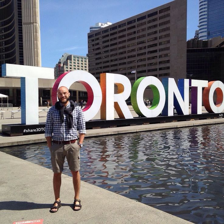 More orientations are happening! Welcome to Toronto Gergely! by campcanada
