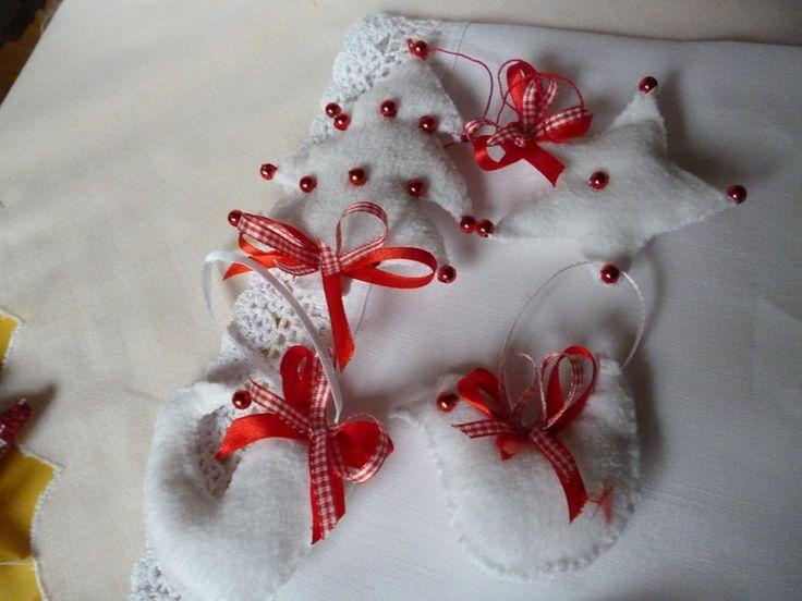 fehér piros karácsony