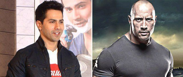 Dwayne Johnson, heres what Varun Dhawan would like to do if he gets to meet you,Bollywood News,Bollywood,Bollywood Latest,BollywoodBrakingNews