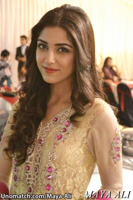Maya Ali Pakistani Actress And fashion Model