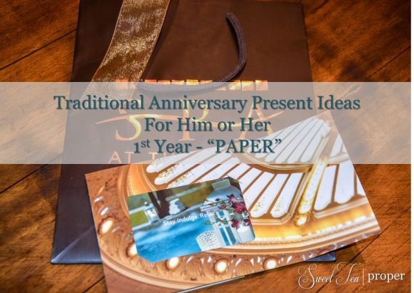 One Year Anniversary Ideas For Her : One Year Anniversary ?Paper? Present Idea Anniversary Gift Ideas ...
