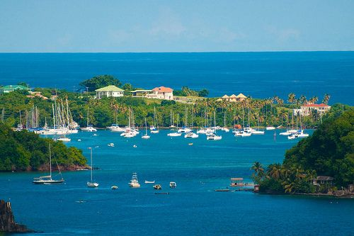 Canash Bay, St Vincent.  my childhood village.