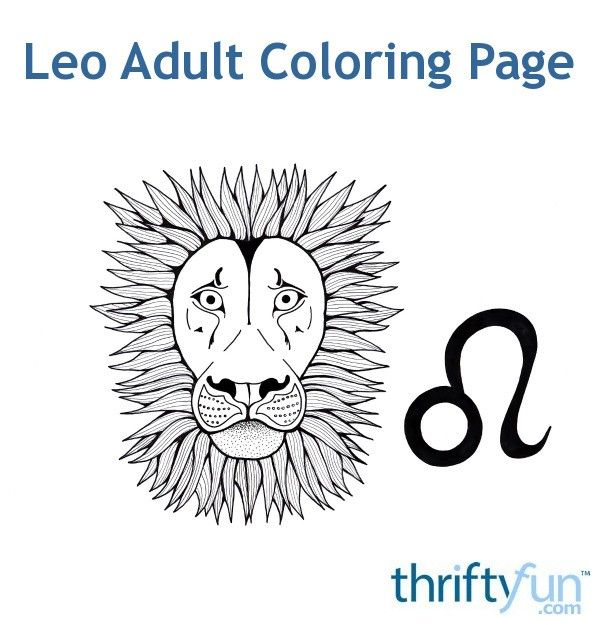 Here is the last free coloring page in the zodiac series! This one is for those born under the zodiac sign Leo. #coloring #adultcoloring #zodiaccoloring