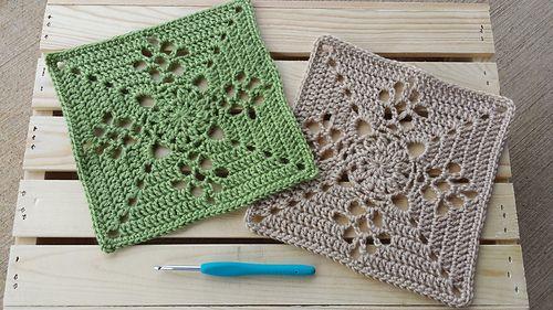 Free Victorian Lace Crochet Patterns : Victorian Lattice Square by Destany Wymore Granny ...