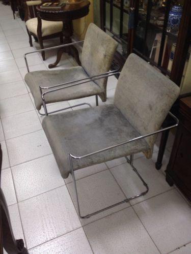 Poltrona sedia Acciaio Vintage Anni '70 Design GIORGIO DECURSU-WAIMEA-PONTI? in Arte e antiquariato, Modernariato, Mobili | eBay