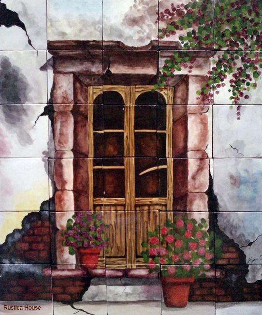 Decorative Wall Tile Murals 175 Best Decorative Tile Murals Images On Pinterest  Decorative