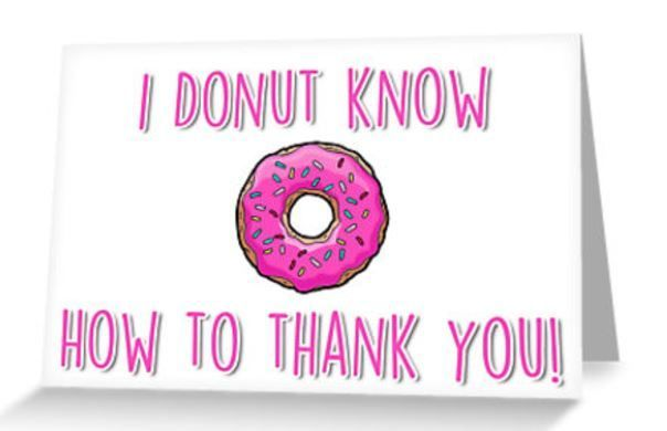 11 Pun Thank You Gifts And Punny Thank You Cards Pun Me Up Thank You Cards From Kids Thank You Puns Thank You Gifts