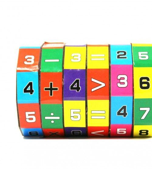 Matematika tanulást segítő bűvös henger