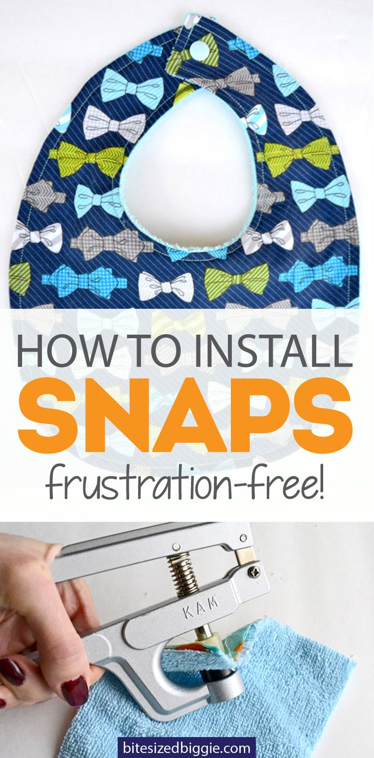 Make Snapping a Snap! How to Install KAM Snaps - Bite Sized Biggie