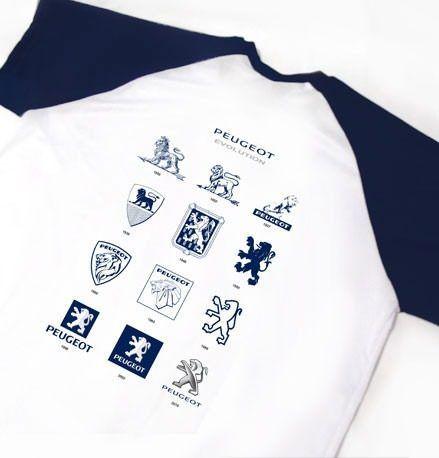 camiseta dry fit - estampa peugeot evolution - es123