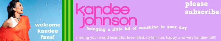 Kandee Johnson . The genius for make-up tutorials