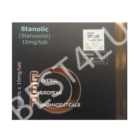 Buy Stanolic (Stanozolol) 10mg/tab. (96 tab.) GEP PHARMA