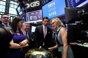 Global stock market gains capped by tech Europe; U.S. dollar weakens
