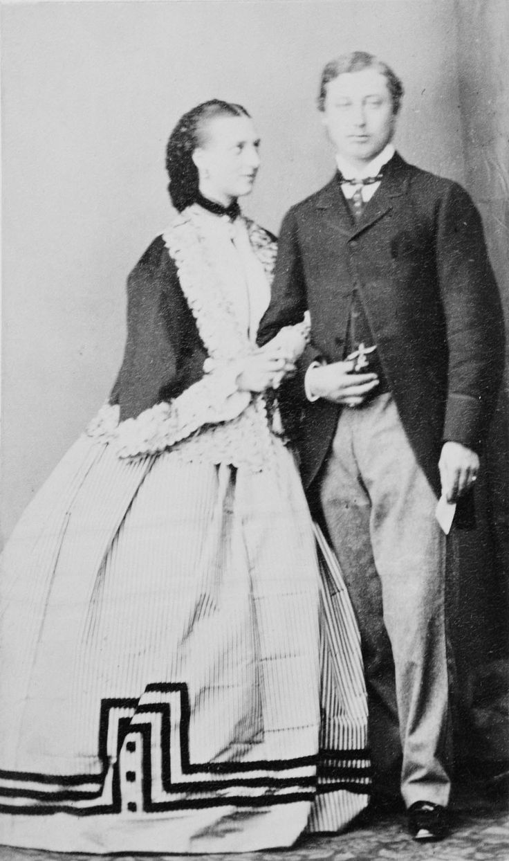 Albert Edward, Prince of Wales and Princess Alexandra of Denmark, 1862 | Royal Collection Trust