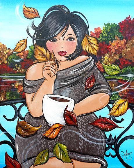 Octobre  Isabelle Desrochers peintre